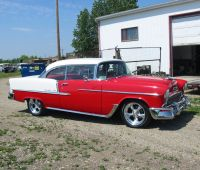 1955 Chev 2 Door Hard Top